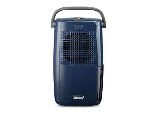 Delonghi DX10 Blue Déshumidificateur, 190 W, Bleu