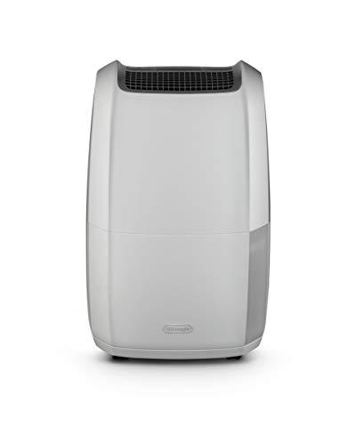De'Longhi DDSX220 AriaDry Déshumidificateur d'air pour maison, 436 W, 20 litres, 44 décibels,...
