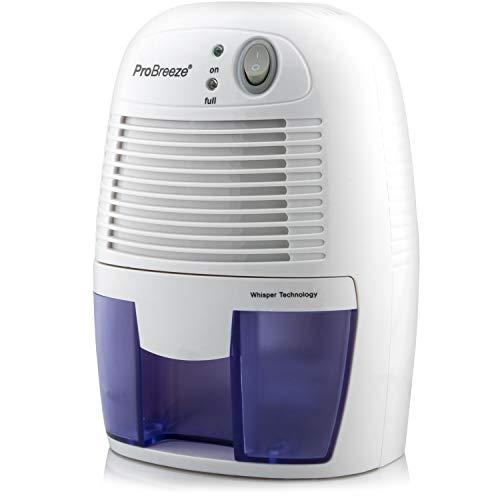 Pro Breeze Mini Déshumidificateur d'Air Compact 500 ml - Anti-humidité et Moisissures - Cuisine,...